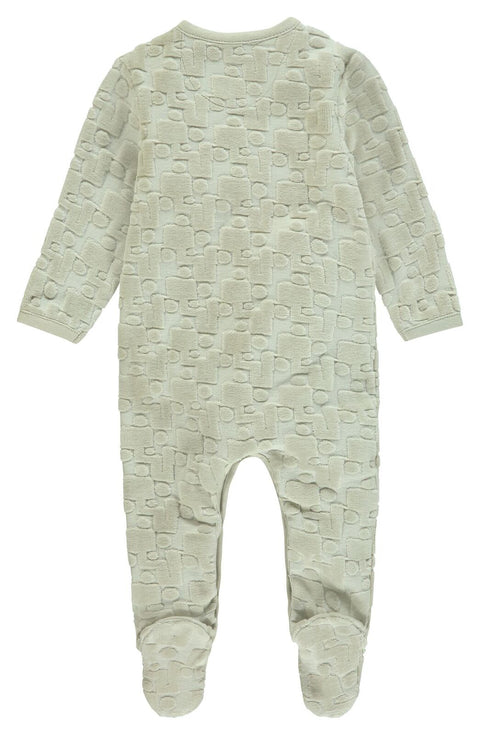 Noppies Unisex Playsuit ls Tiffin in Dove