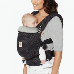 Ergobaby 3 Position Adapt Baby Carrier in Geo Black
