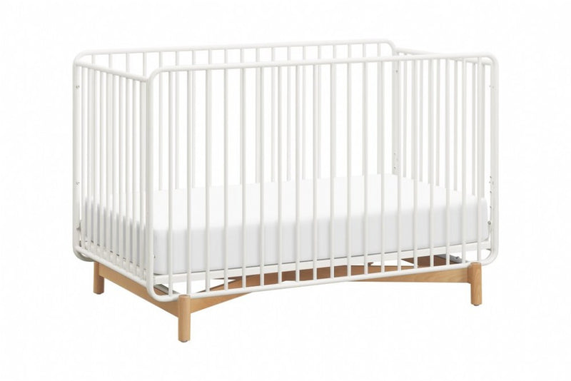 Million Dollar Baby Bixby 3 In 1 Metal Crib With Toddler Bed