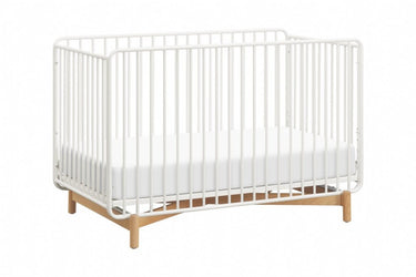 Million Dollar Baby Bixby 3 In 1 Metal Crib with Toddler Bed Conversion Kit