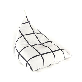 Gautier Studio Fiesta Beanbag Black and White