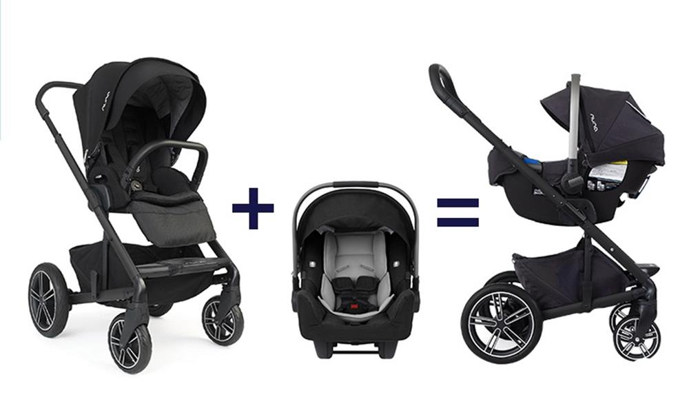 Nuna Mixx 2 Stroller and  PIPA Infant Car Seat