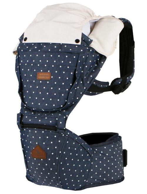 I-Angel Hipseat Baby Carrier in Denim-Starlit Hipseat