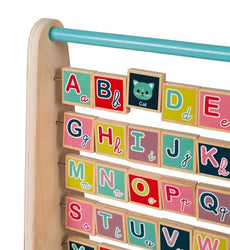 Janod Baby Forest ABC Abacus (English)