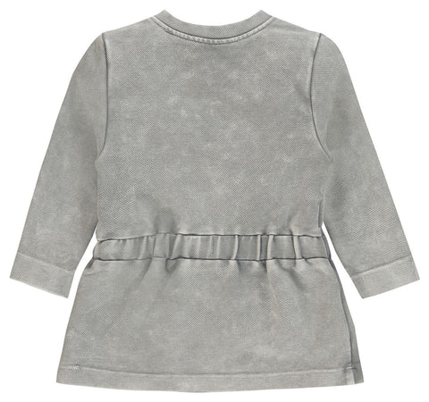 Noppies G Dress ls Tyrus in Grey Overdyed