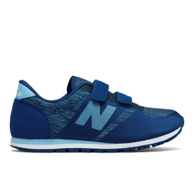 New Balance Hook and Loop in Blue and Grey