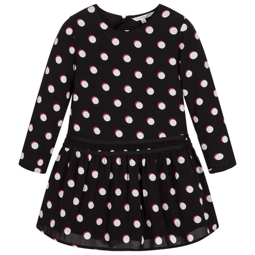 Little Marc Jacobs Robe In Black