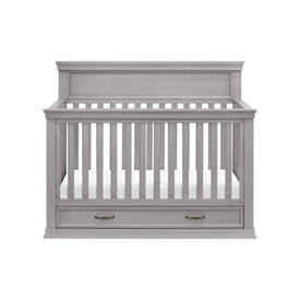 MDB Langford 4-in-1 Convertible Crib In Windsor Grey