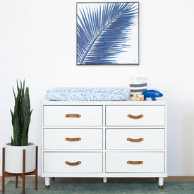 Franklin & Ben Tanner 6-Drawer Dresser in Warm White