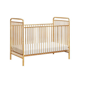 BabyLetto Jubilee 3-in-1 Convertible Metal Crib without conversion kit