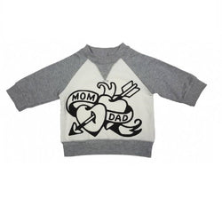 Earth Baby Outfitters Organic Cotton Tattoo Graphic Sweatshirt