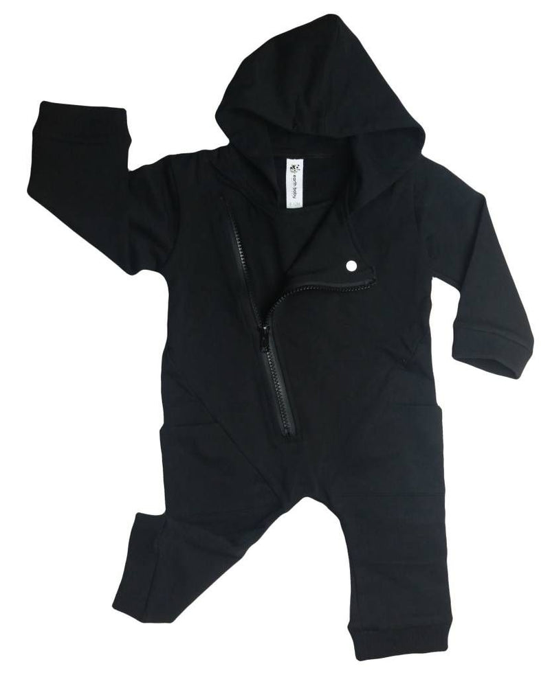 Earth Baby Outfitters Organic Cotton Terry Biker Hoodie