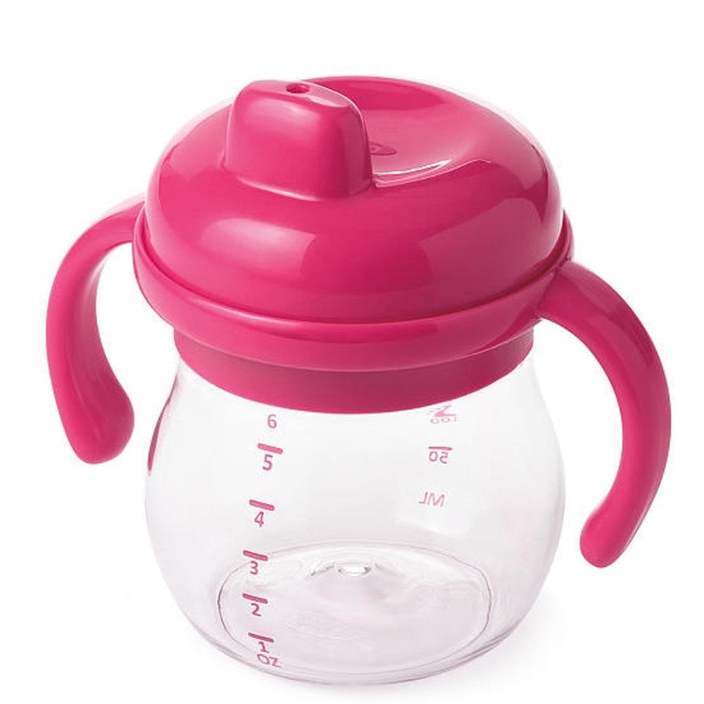 Oxo Tot Transition Sippy Cup with Handles Pink