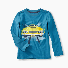 Tea Collection Muscle Car Graphic Tee in ARCTIC BLUE