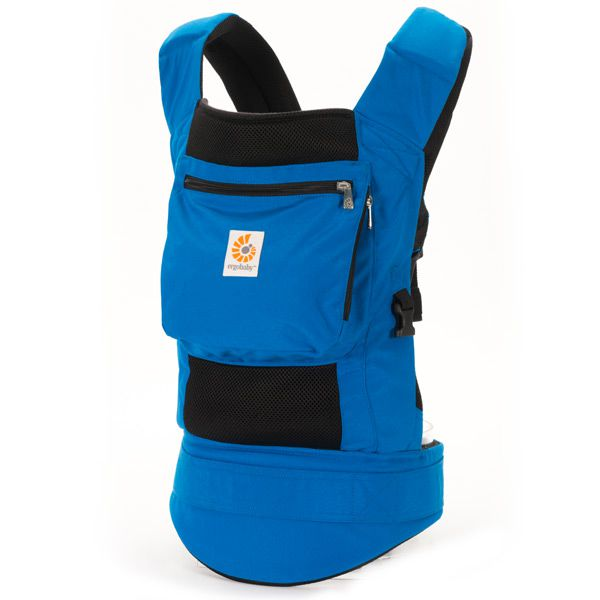 7923303b877 Ergo Baby Performance Carrier in True Blue and Black