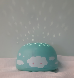 A Little Lovely Company Projector light in Cloud