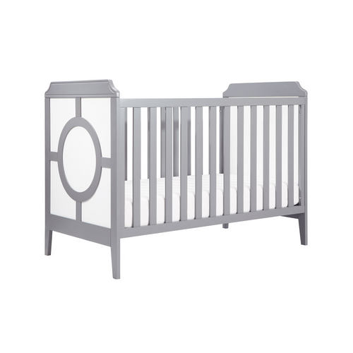 Da Vinci Poppy Regency 3-In-1 Crib in Grey and White