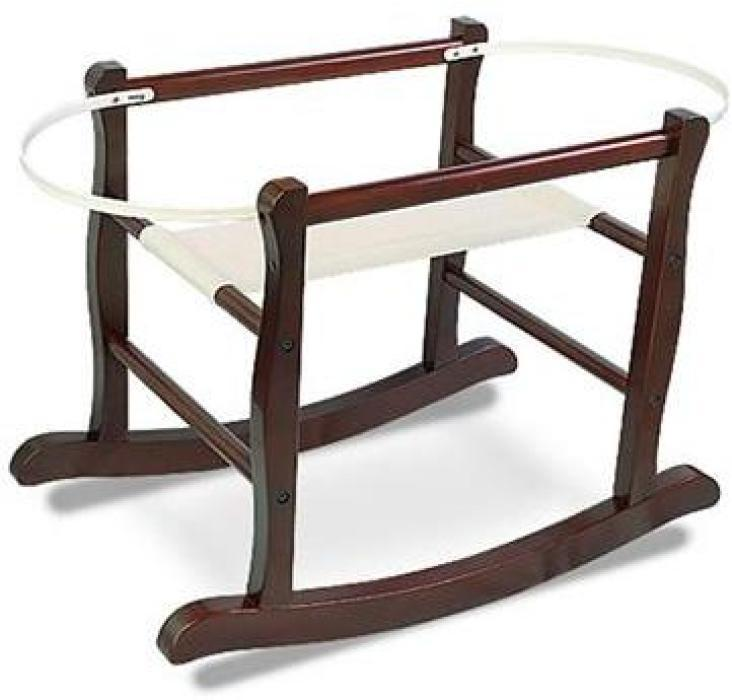 Jolly Jumper Rocking Bassinet Stand in Espresso Finish