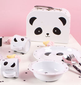 A Little Lovely Company Suitcase: Panda