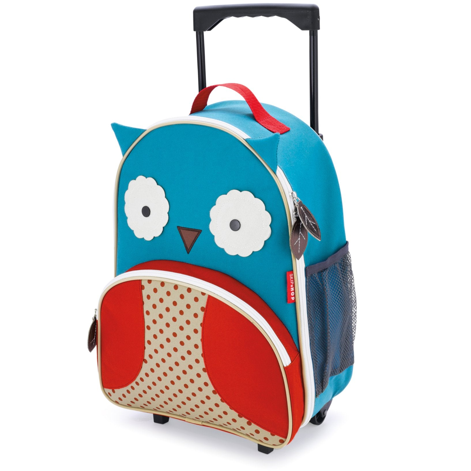 Skip Hop Zoo Luggage Kids Rolling Luggage in Owl