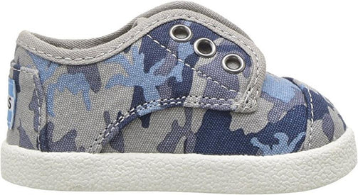 Tiny Toms  Paseo Sneakers in Deep Ocean Camo