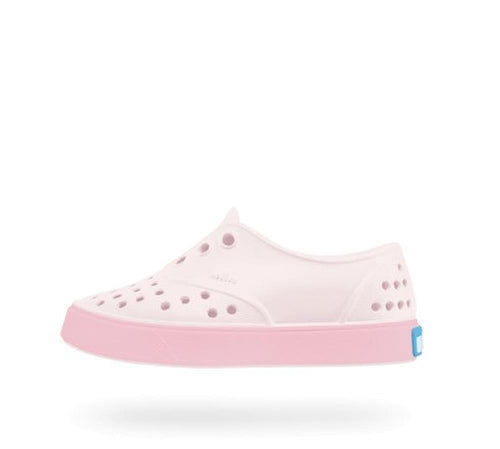 Native Shoes Miller Child Milk Pink and Princess Pink