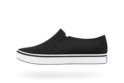 Native Shoes Miles Child in Jiffy Black and Shell White