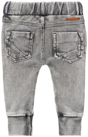 Noppies B Pant sweat curved Foley in Washed Grey