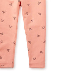 Tea Collection Wooloomooloo Baby Leggings in Sherbert