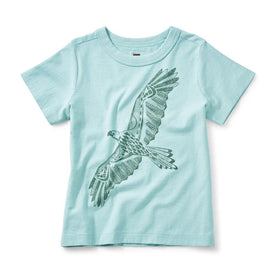 Tea Collection Condor Graphic Tee in Alpine