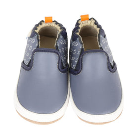 Robeez Lightning Rod Shoes in China Blue
