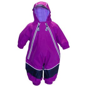Calikids Waterproof Splash Suit in Fuchsia