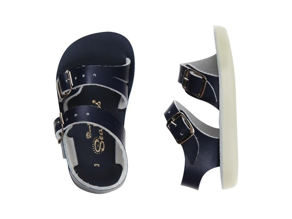 Salt Water Sandals Sea Wees Infant in Navy Blue