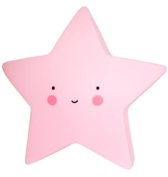 A Little Lovely Company Mini star light in Pink