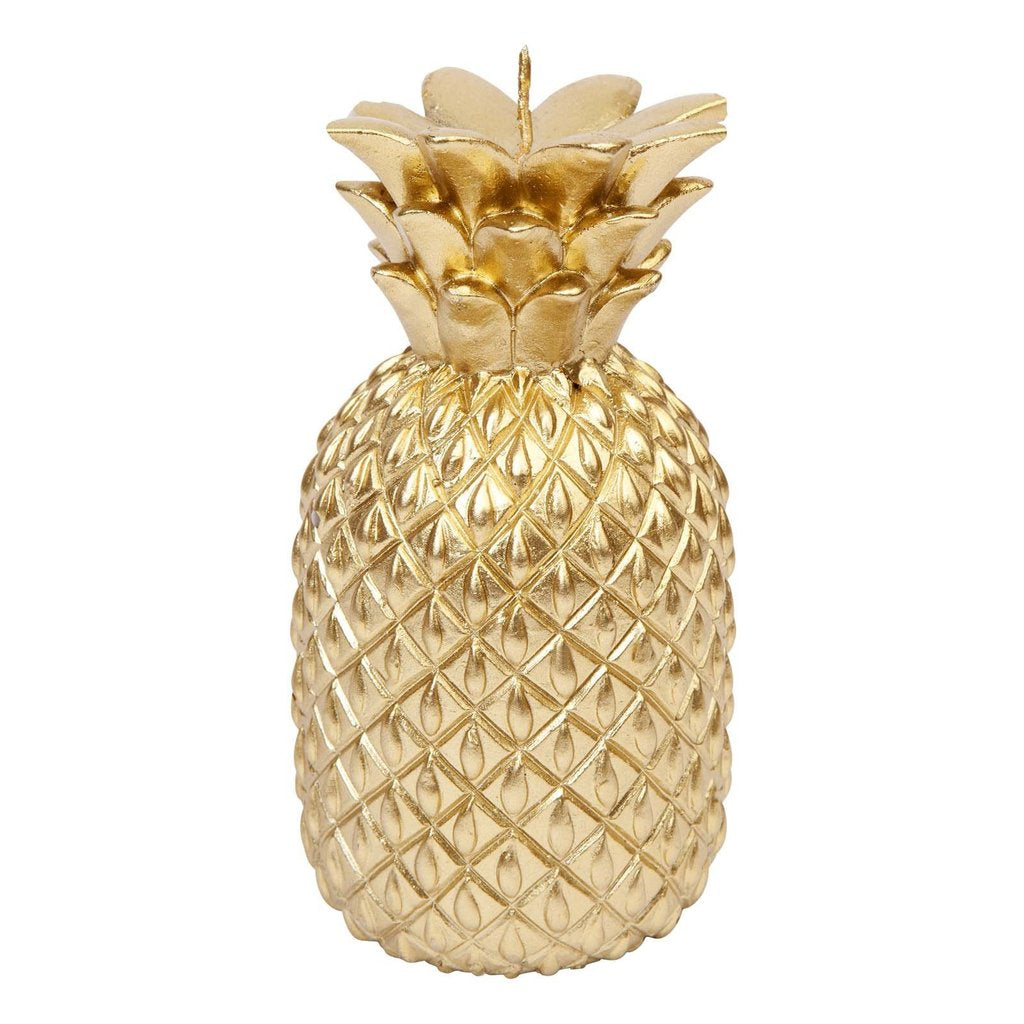Sunnylige Gold Pineapple Candle Small