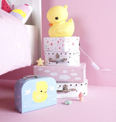 A Little Lovely Company TABLE LIGHT: YELLOW DUCK