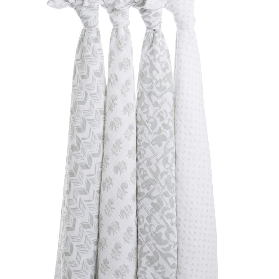 Aden + Anais Classic Swaddles Tea 4 Pack