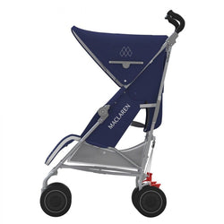 Maclaren Techno XT Stroller in Medieval Blue and Silver