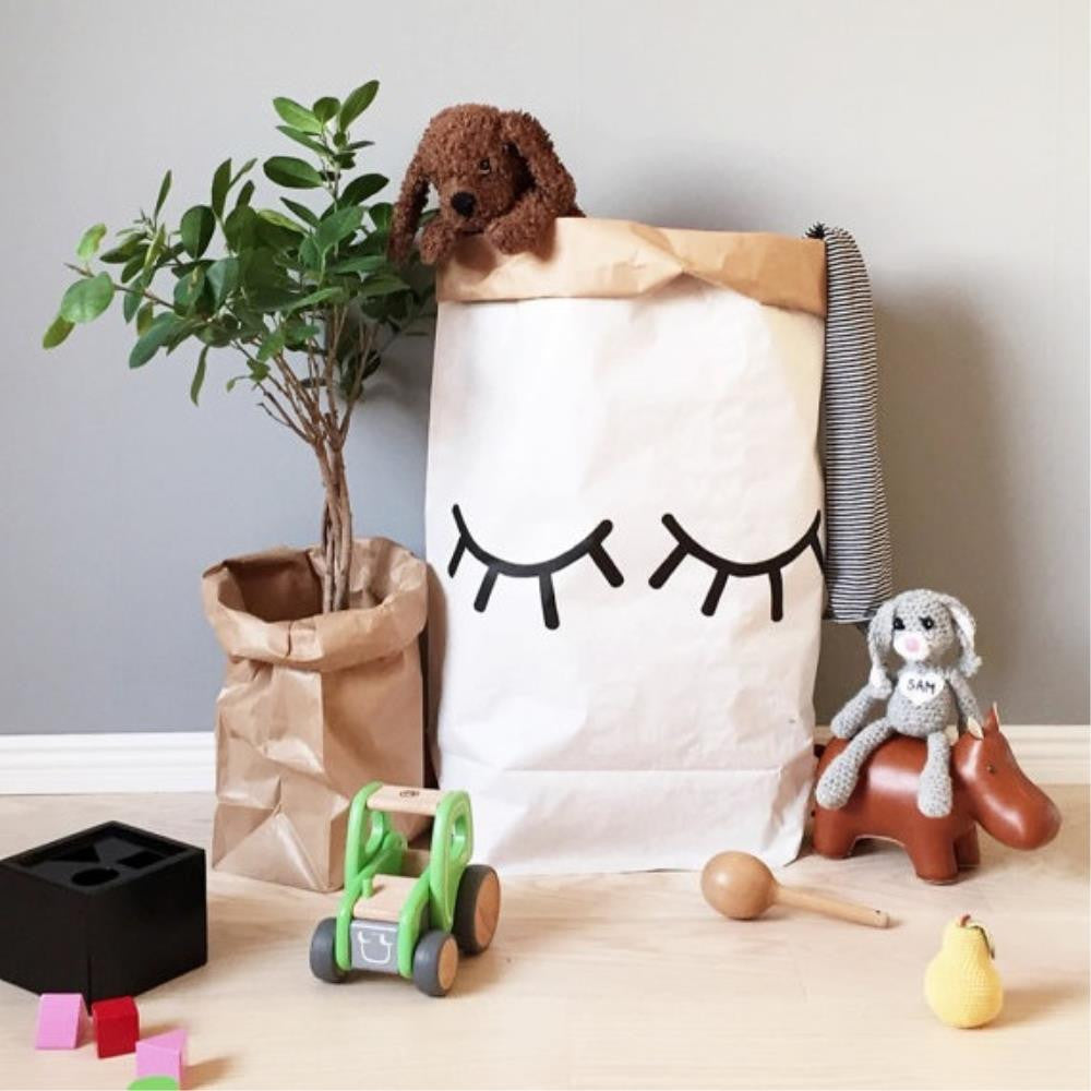Paper Toy Bag Closed Eye