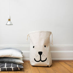 Fabric Toy Bag Bear