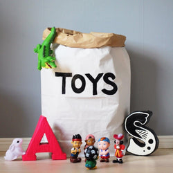 Paper Toy Bag Toys Black