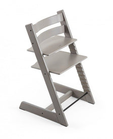 Stokke Tripp Trapp Oak Wooden High Chair in Oak Greywash