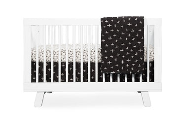 BabyLetto Tuxedo Arrows Fitted Crib Sheet