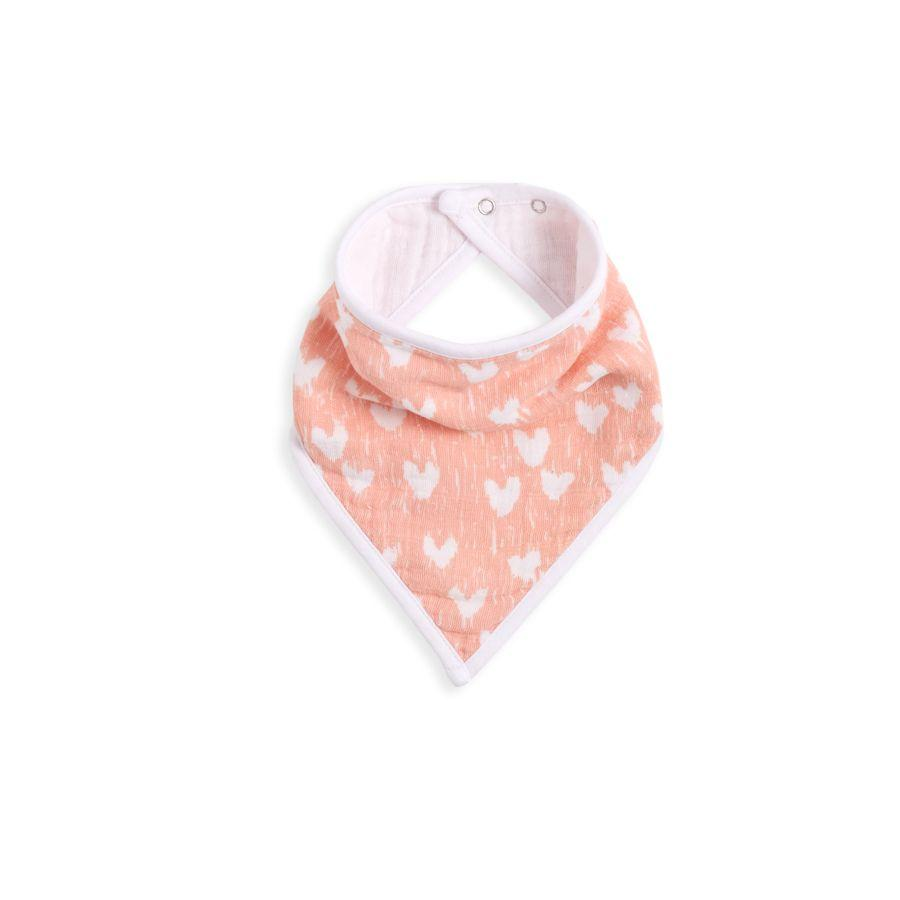 Aden + Anais White Label Bandana Bib - Flock Together