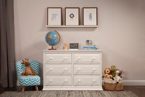 Da Vinci Signature 6-Drawer Double Dresser, KD Without Removable Changing Tray