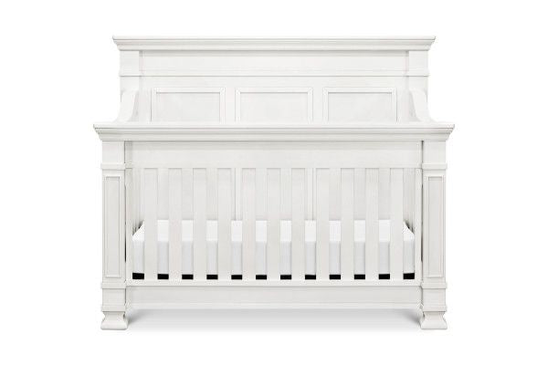 Franklin & Ben Tillen 4-in-1 Convertible Crib w/ Toddler Bed Conversion Kit in Warm White