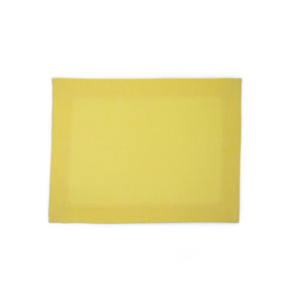 Yellow Linen/Cotton Placemat (4)