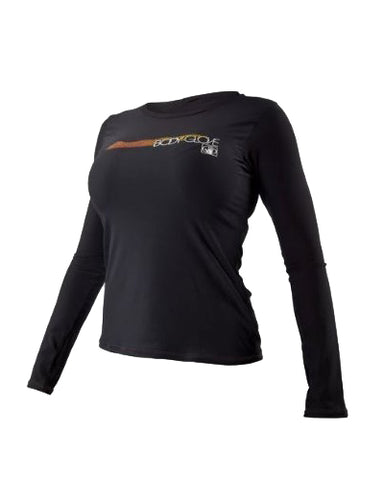 BODY GLOVE DELUXE WOMEN'S LONG SLEEVE RASHGUARD – LOOSE FIT