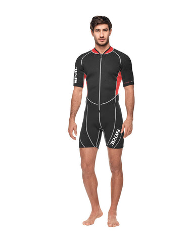 SEAC CIAO 2.5MM MEN'S SHORTY WETSUIT