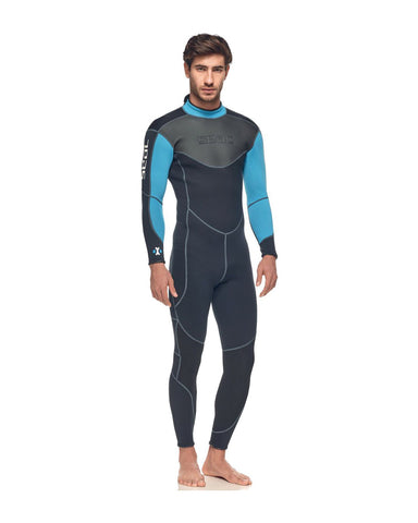 SEAC SENSE 3MM MEN'S FULL WETSUIT